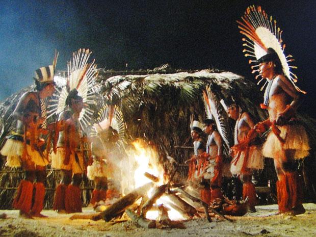 Tribo completa ritual para fazer amuleto de Solano