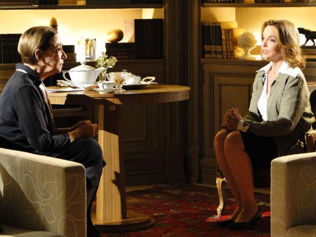 Myrna ajuda Bete revelando o que Eugênio fez no passado