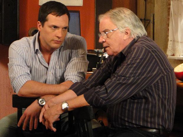 Talarico diz a Diogo que Clara vai se arrepender