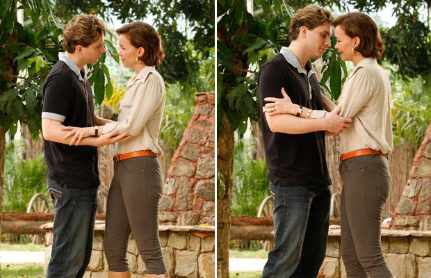Vitor e Amélia: cada vez mais próximos