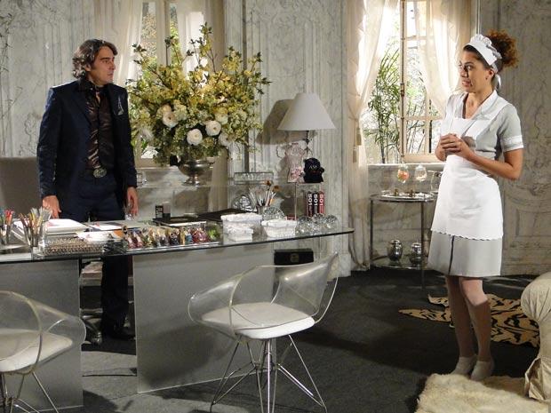 Jacques fica revoltado ao saber que Gabi é filha de Marta
