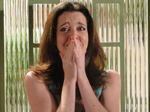Felícia chora após reencontrar Gerson
