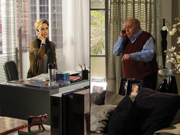 Luisa conta sobre os planos de Edgar e Marcela para Giancarlo