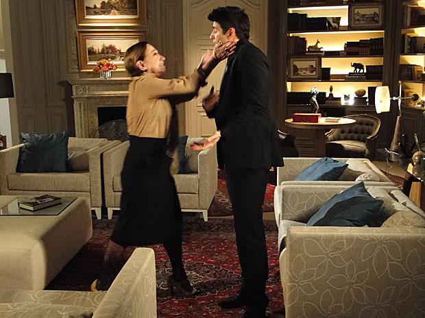 Bete se descontrola e dá uma bofetada em Fred