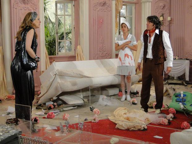 Revoltado, Jacques diz que Jaqueline é culpada por tudo de ruim que aconteceu com ele