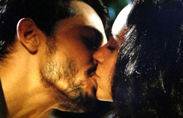 O beijo aguardado