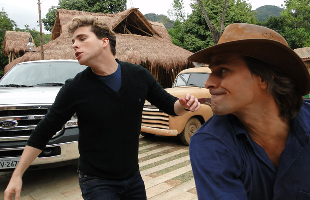 Solano briga com Vitor
