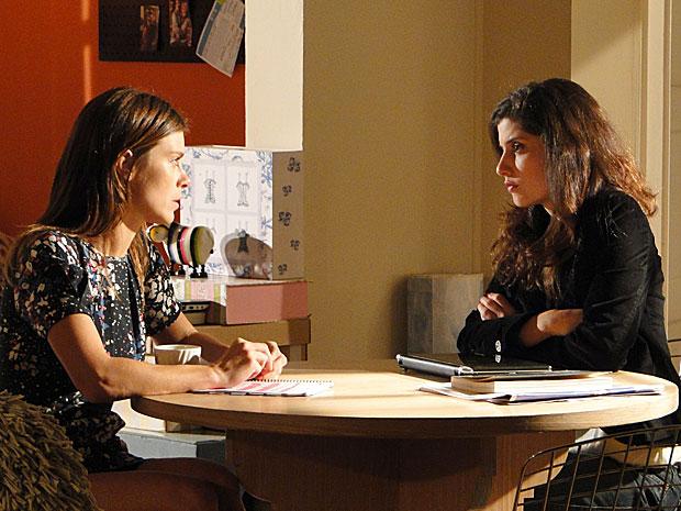 Diana se recusa a contar o segredo de Gerson para Cris