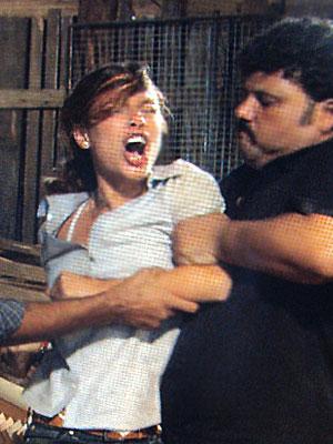 Manuela capturada