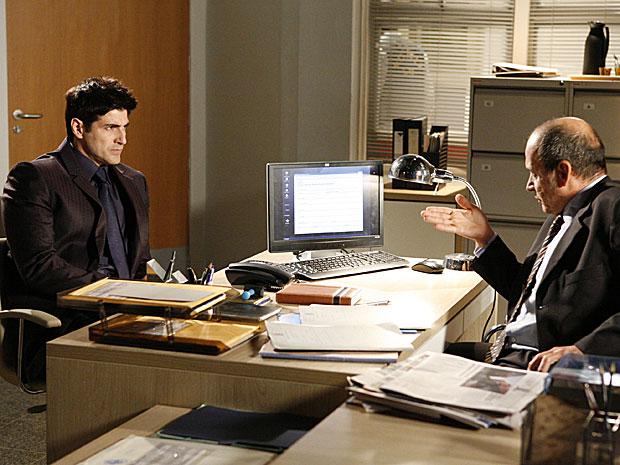 Fred diz que Melina deve responder por falso testemunho