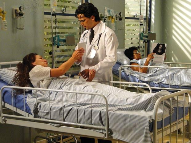 Dr. Eduardo descrobre que a senhora é mãe de Julinho