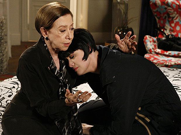 Melina diz que está arrependida do que fez para separar Mauro e Diana