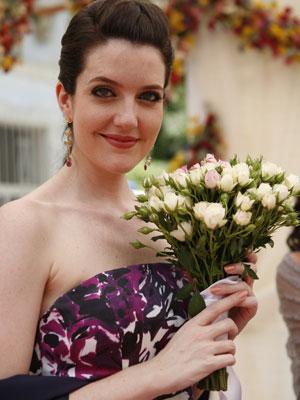 Larissa é casada há um ano