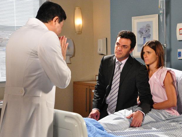 Médico diz a Diana que a gravidez é de risco
