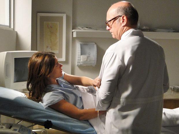 Diana pede ao médico que salve sua filha