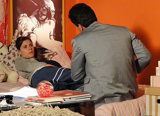 Mauro consola Diana