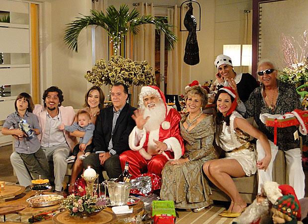 Família de Olavo se reúne para o Natal no Jardim América