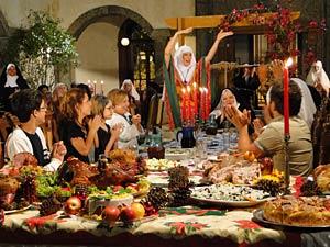 Todos comemoram o Natal