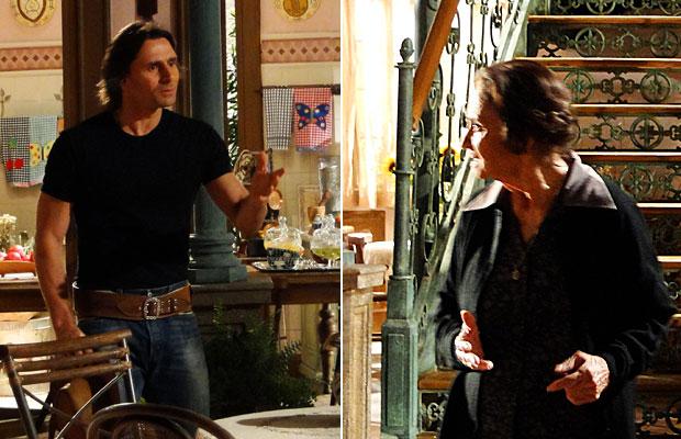 Mariquita conta a Solano tudo sobre Beatriz
