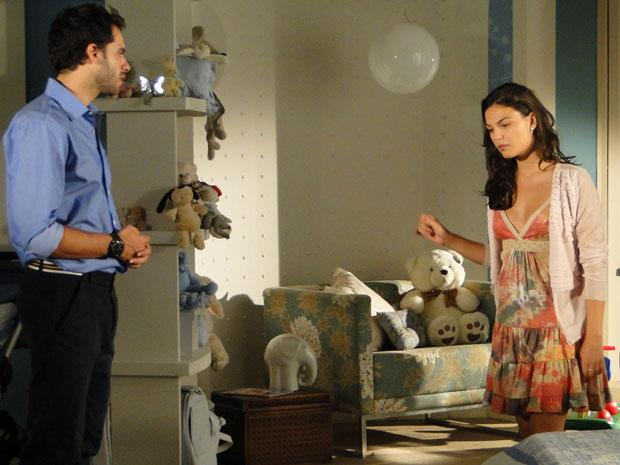 Marcela não consegue perdoar Renato