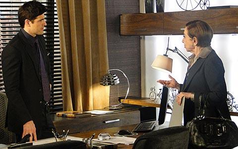 Bete põe plano contra Fred em ação e cobra dívida da metalúrgica (Passione/ TV Globo)