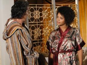 Clotilde fala para ele reconquistar Jaqueline
