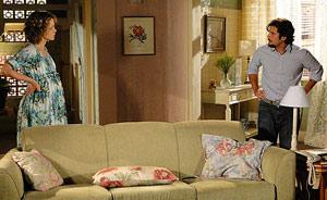 Agostina diz para Berilo que o filho que está esperando é de Mimi (passione/tvglobo)