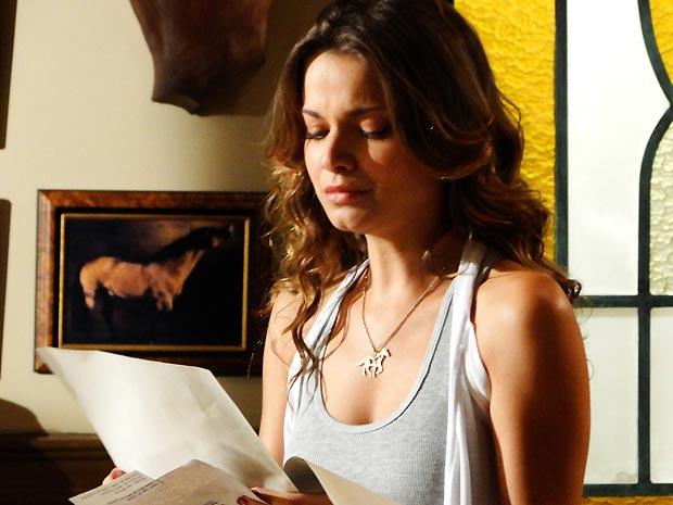 Manuela levam um baque ao ler o resultado