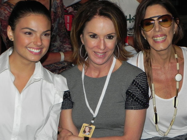 marcela e stela no fashion rio