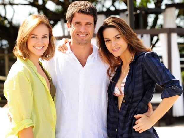 Paola Olveira, Eriberto Leão e Fernanda Machado