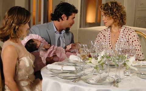 Berilo consegue o que mais queria: ficar com Agostina e Jéssica (passione/tvglobo)