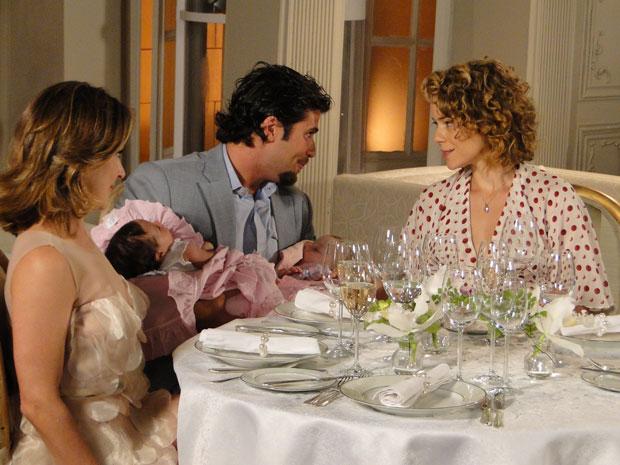 Berilo, suas duas filhas e suas duas mulheres
