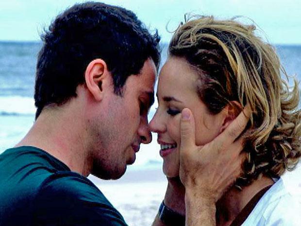 Marina e Pedro na Praia