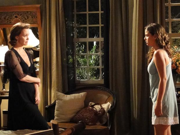 Amélia revela a Manu que Max pode ser o mandante do atentado contra Solano