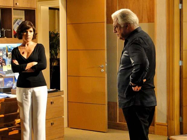 Raul e Wanda se preocupam