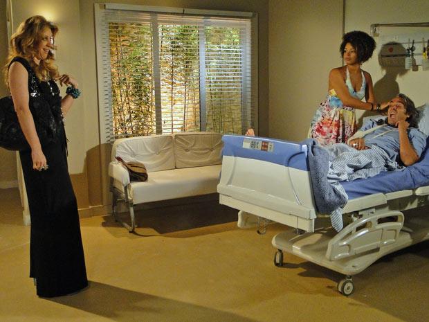 Clotilde chega ao quarto de Jacques e encontra Jaqueline