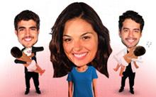 Escolha entre Edgar e Renato e cuide do bebê (Ti-ti-ti/TV Globo)