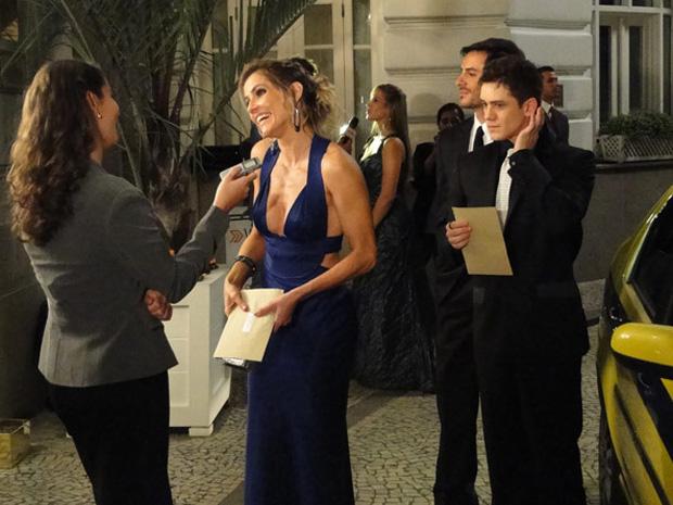 Natalie e Roni no Copacabana Palace