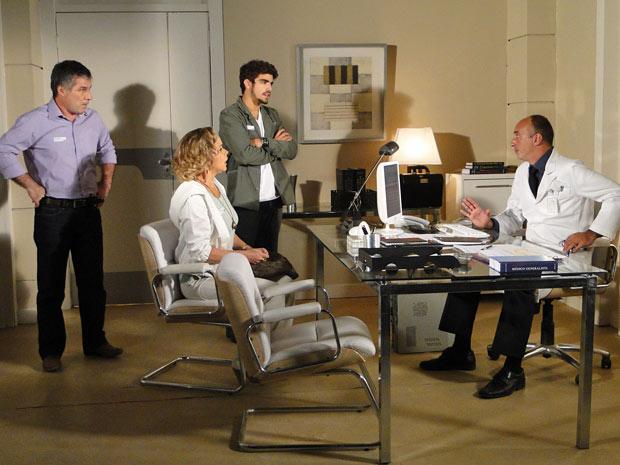 Edgar fica chocado ao saber que Luisa está com gravidez psicológica