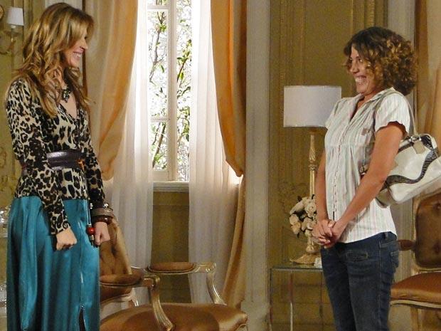 Jaqueline e Rosário se unem contra Jacques e Clotilde