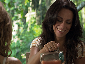 Janaína e Marly falam mal de Bento