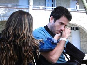 Marina vê o clima entre Irene e Pedro