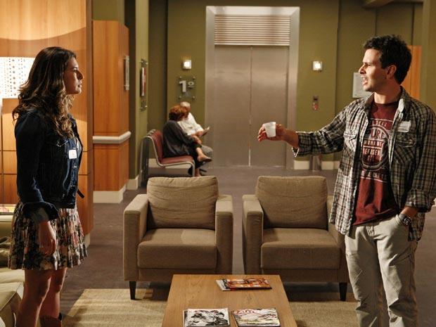 Irene (Fernanda Paes Leme) diz que tem horror a cadeirante