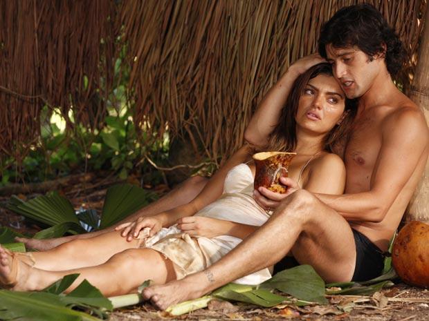 Desirée arde em febre e Armandinho a protege