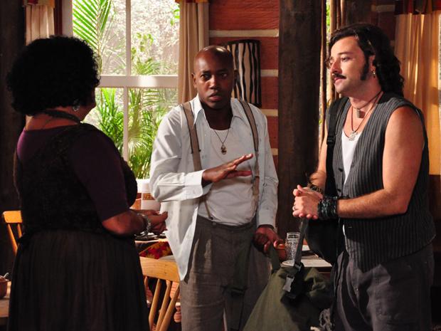 Pimpi diz a Terê e Neca que o quarto é prioridade já que Nancy o espera