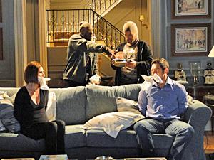 Oscar e Gilda não dizem que o filho está lá