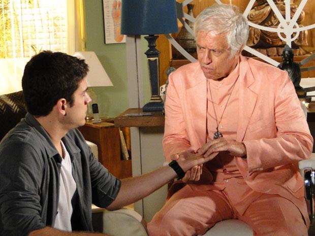 Pedro é atendido pelo Professor Cassiano
