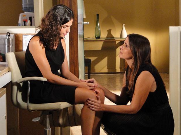 Marcela desabafa com Suzana