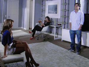 Armandinho pede para Stéfany deixa Desirée e Jorgito em paz