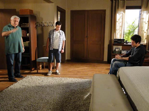 Raul e Pedro discutem